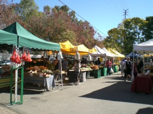 Calabasas Farmers' Market, photo by Rose Osman, John Aaroe Group