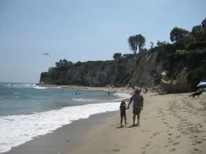Walking on beach_Rebecca Nelson_CityMalibu